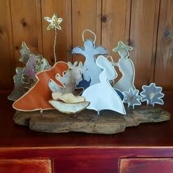 Sculpture Crèche de Noël