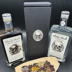 White Skull Gin and Black...