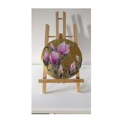 Cerchio di fiori - magnolia