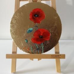Flowers-Poppy Circle