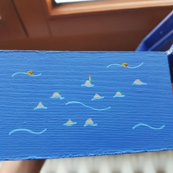 Hand painted artisanal boxes