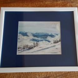 Snowy landscape Aminona