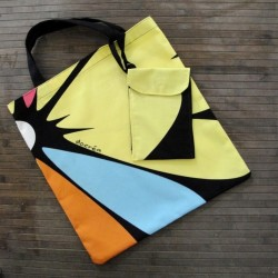 Bag with matching pouch
