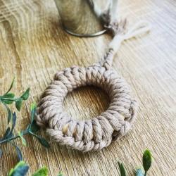 Circle key ring