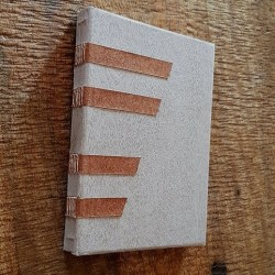 Wooden Cover Notebook