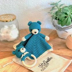 Milo the teddy bear wooden...