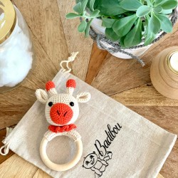 Wooden teething ring/rattle...