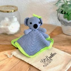 Doudou crochet Sacha le koala