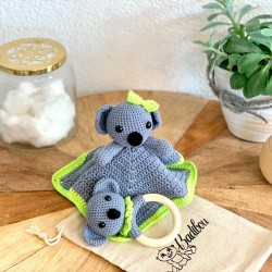 Box doudou and wooden...