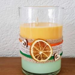 Eucalipto e arancia Bougie