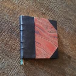 Notebook Half Leather Bronze
