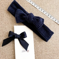 Headband and clip for babies