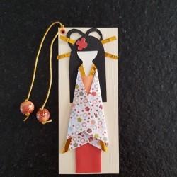 Yellow Geisha Bookmarks