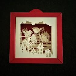 "Frame ""Les Etourneaux"""