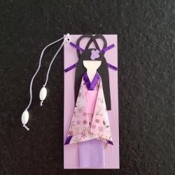 Bookmarks Geisha pink and...