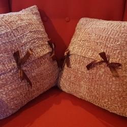 Morbidi cuscini rosa