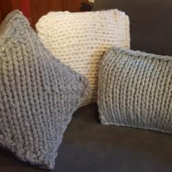 Pastel Large Mesh Cushions