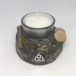 Candle holder: triskele