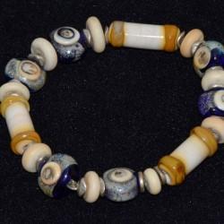 Bracelet en perles de verre...