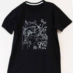 T-shirt unisexe, motif musical
