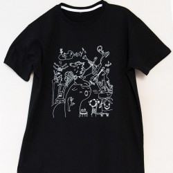 Unisex T-shirt, musical motif