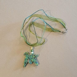 Origami Horse Necklace
