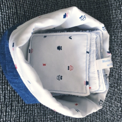 Basket and its 6 wipes