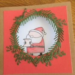 Greeting cards Santa Claus