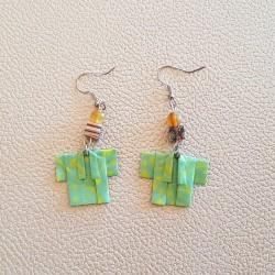 Origami Kimono Earrings