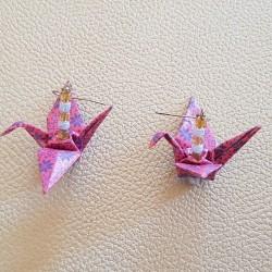 Earring Origami Cranes