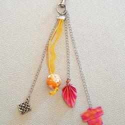 Origami Orange Kimono Bag...